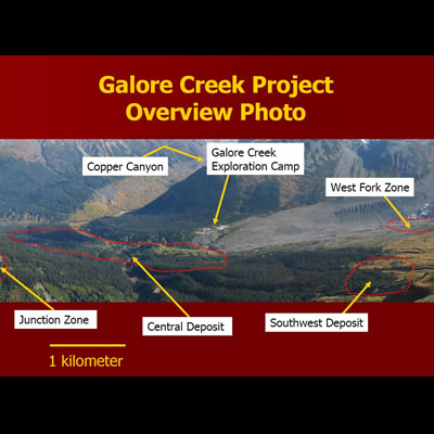 Overview of Galore Creek project.
