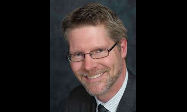 Gavin Dirom, new President and CEO of Geoscience BC.