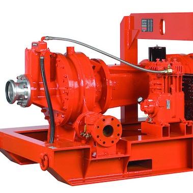 A Godwin Electric pump—a Xylem product.