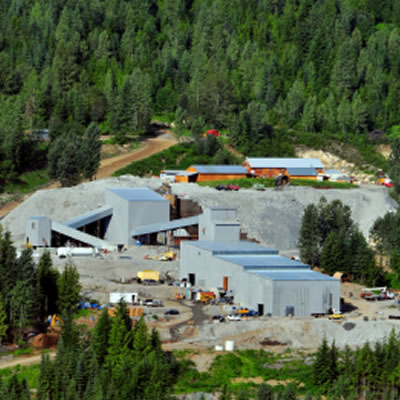 Picture of Max Mine and Mill in the B.C. Kootenays.