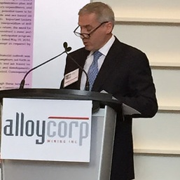 Gordon Bogden, CEO of Alloycorp, brings 23 years as an investment banker to the mining industry.
