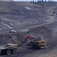 Grande cache north pit