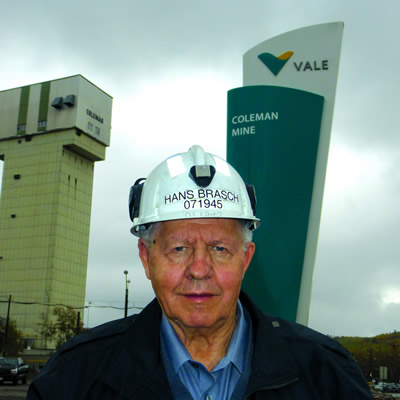 Hans Brasch worked in the mining industry for 40 years, and never missed a single day of work.