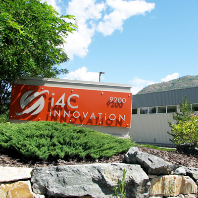 The i4C Innovation Center, located in Trail, B.C.
