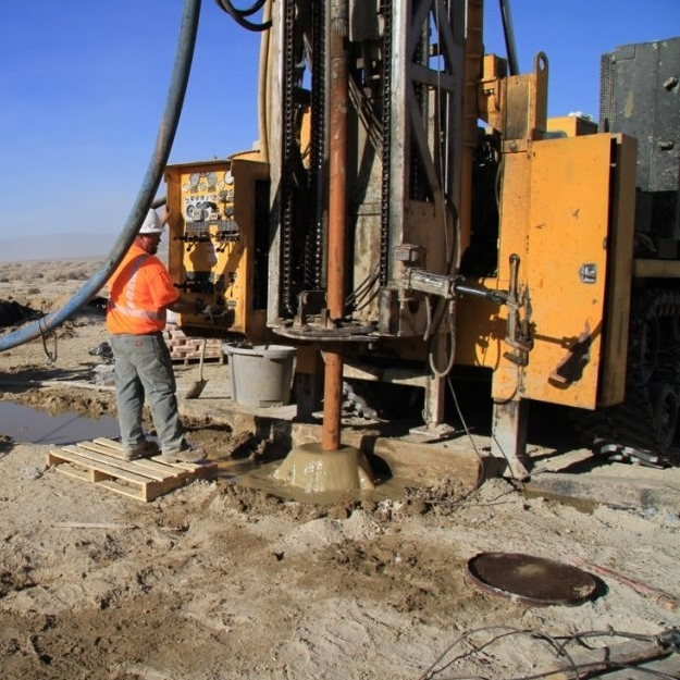 Pure Energy Drills on their Clayton Valley property in Nevada