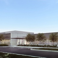 Digital rendering of Imperial Oil's new oil sands research centre in southeast Calgary.