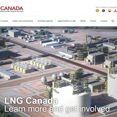 Image of LNG and JGC Corporation.