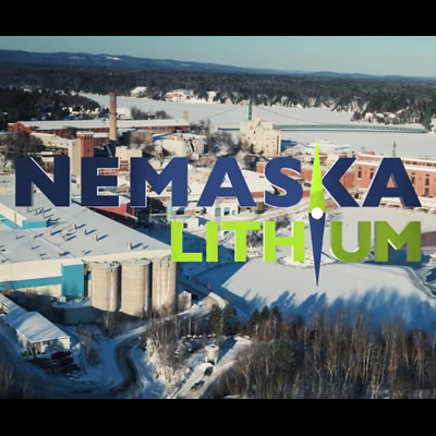 Nemaska Lithium Inc. logo.
