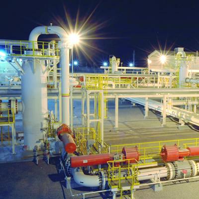 Orpics' Liwa Plastics Industries Complex Project, located in Oman.