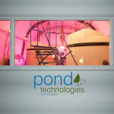 Pond Technologies logo.