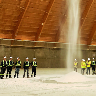 K+S new Bethune mine produces first tonnes of potash -- Most modern potash facility in the world