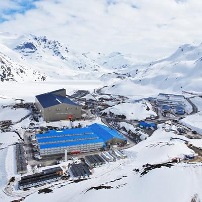 Vancouver-based Pretivm Resources' Brucejack mine.