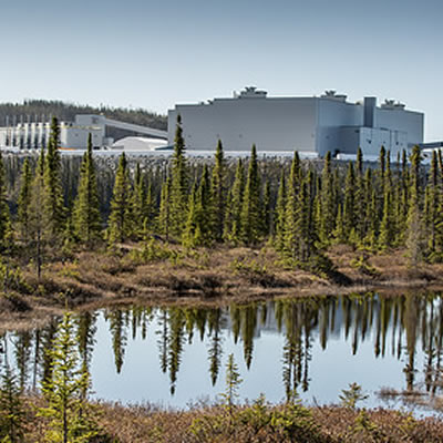 The Renard Diamond Project is located in the James Bay region of north-central Québec.