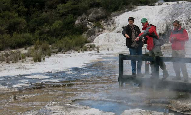 Orakei Korako Geothermal Pools - New Zealand. Energy, water, and minerals in action. These are critical topics for RFG2018.