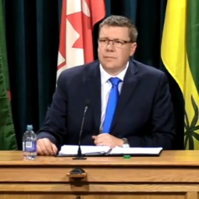 Saskatchewan officials announce plan to fight the federal government's imposition of a carbon tax on the province of Saskatchewan.