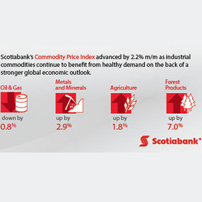 Scotiabank's Commodity Price Index graphic.