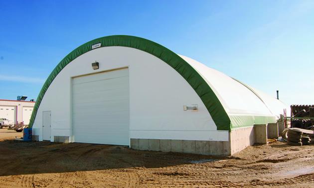 A 50u0027x42u0027 A Series Engineered Building located in Martensville Saskatchewan. It is & Mining industry feeling the benefits of fabric | Mining u0026 Energy
