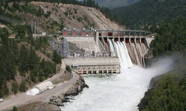 Waneta Dam.