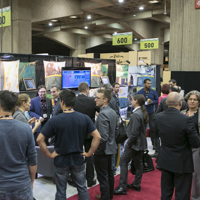 Xplor 2015 - Show floor (CNW Group/Quebec Mineral Exploration Association (AEMQ))